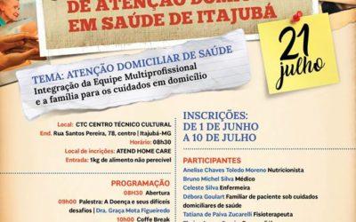 I Simpósio de Atenção Domiciliar em Saúde de Itajubá